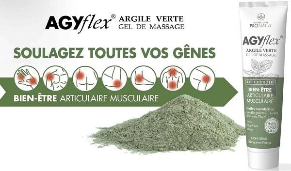 Lot De 2 Agyflex Argile Verte Des Laboratoire Pronatur à 50%