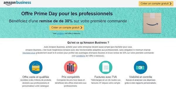 Offre Prime Daypour Les Professionnels Remise Sur Votre Première Commandeamazon Business