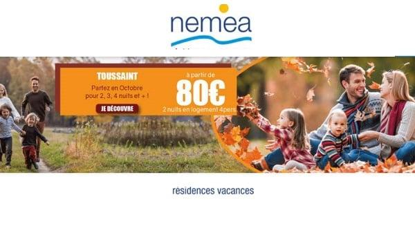 Offre Spéciale Location De Vacances Pour La Toussaint Résidences Nemea