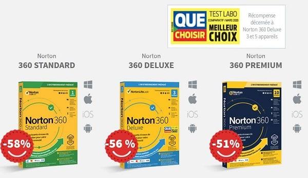 Plus De 50% De Remise Sur Les Logiciels Norton