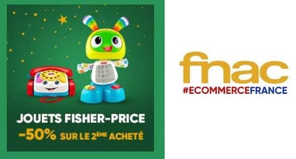 Pour L'achat D'un Jouet Fisher Price Bénéficiez De 50% De Remise Sur Le Second