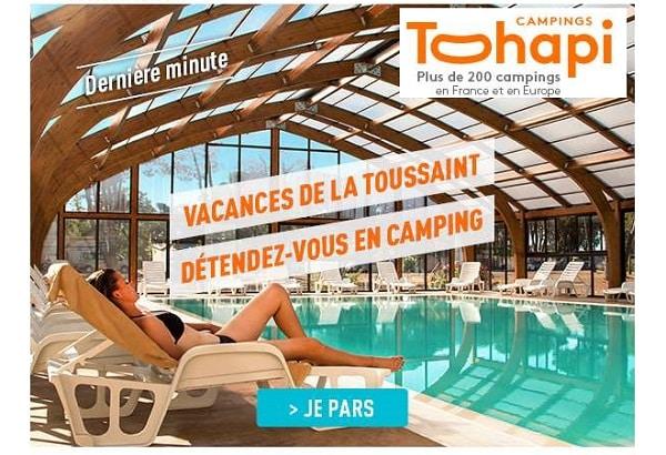 Vos Vacances De La Toussaint En Camping Tohapi Avec La Réservation De Dernière Minute