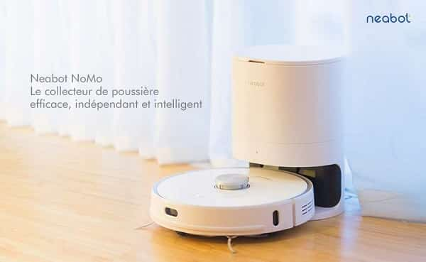 Aspirateur Robot Avec Vidage Automatique Neabot Nomo