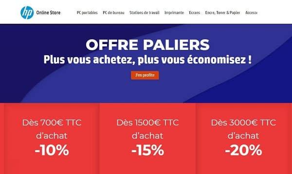 Offres Paliers Hp Online Store Plus Vous Achetez, Plus Vous économisez !