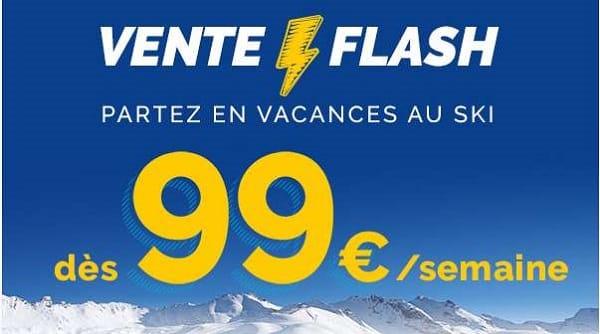 Partez Au Ski Dès 99€ La Semaine En Réservant Pendant La Vente Flash Travelski