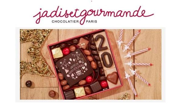Remise Sur Toute La Gamme Chocolat D'anniversaire Avec Une Personnalisation En Ligne Jadis Et Gourmande