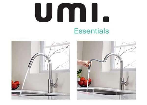 Robinet De Cuisine Avec Douchette Extractible 2 Modes De Jets Umi Essentials