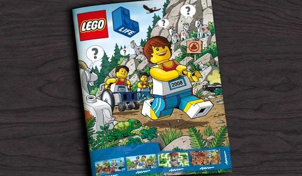 1 An D'abonnement Au Magazine Gratuit Lego Life