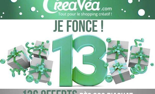13€ De Remise Sur Le Site Créavéa Dès 80€ D'achat