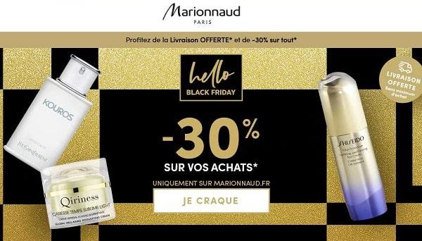 30% De Réduction Sur Le Site Marionnaud Et Livraison Domicile Gratuite