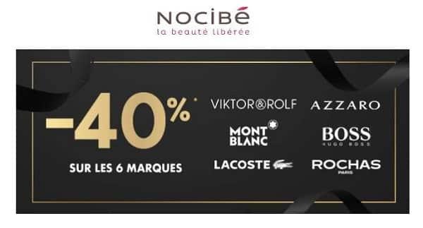 40% Sur Tous Les Parfums Lacoste, Boss, Azzaro, Rochas, Montblanc Sur Nocibé