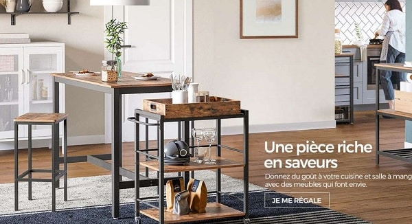 5€ De Remise Sur Tout Le Site Songmics Dès 20€ D'achat