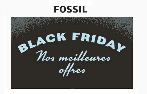 Black Friday Fossil