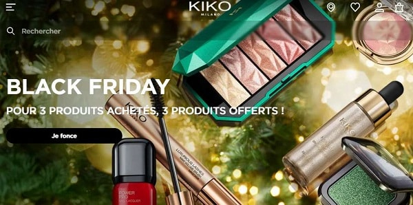 Black Friday Kiko Milano