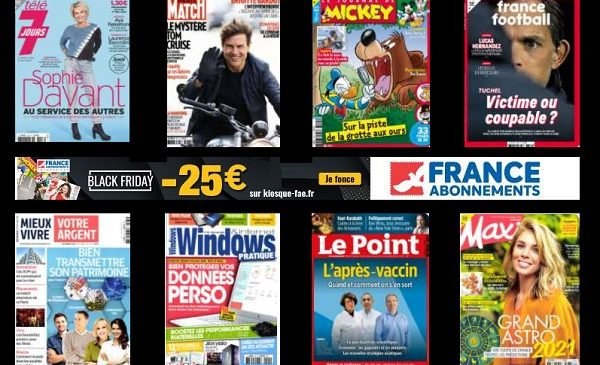 Bon Plan Black Friday Abonnement Magazine