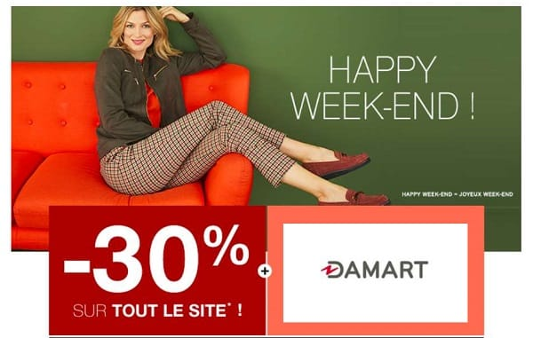 Happy Week End Damart