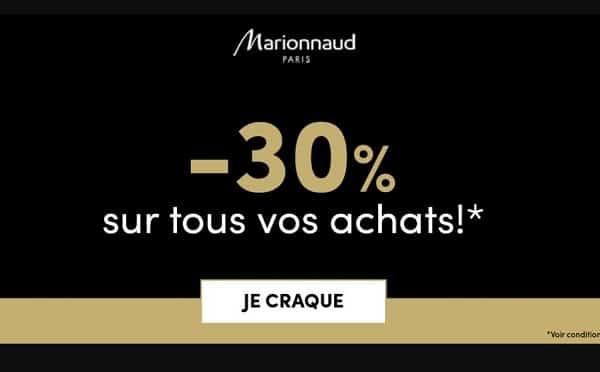 Hello Christmas Marionnaud 30% De Remise Sur Tout Le Site Pour Vos Achats De Noel