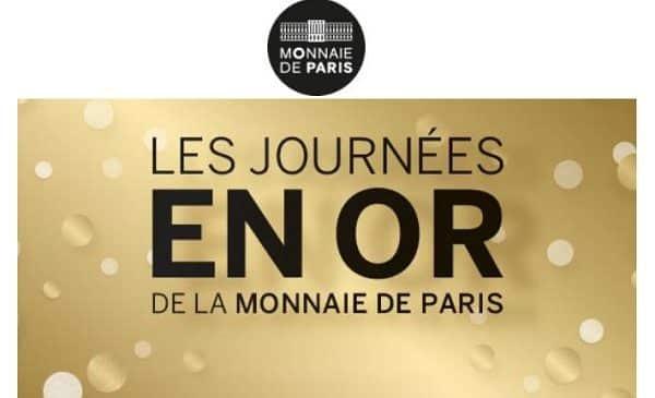 Journées en Or Monnaie de Paris : Jusqu'à -55% sur une sélection de monnaies, médailles et bijoux