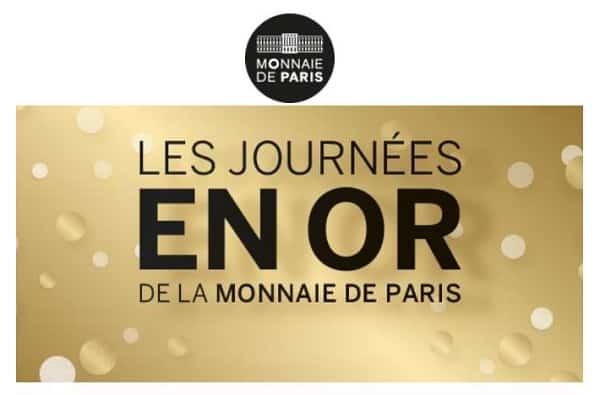 Journées En Or Monnaie De Paris