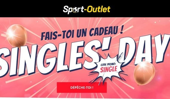 Le Singles'day De Sport Outlet