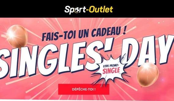 Le Singles'day De Sport Outlet