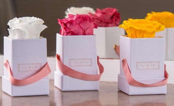 Livraison Gratuite Sur Les Roses éternelles Et Bouquets De Fleurs Séchées De Atelier19