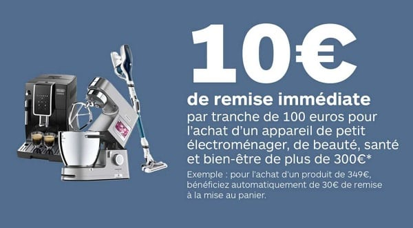 Opération Petit Électroménager Sur Boulanger