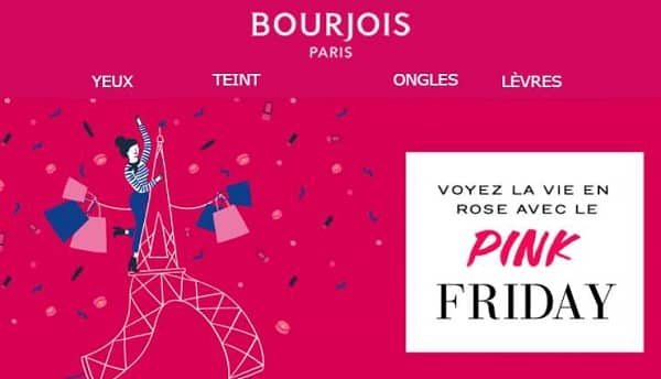 Pink Friday De Bourjois Paris