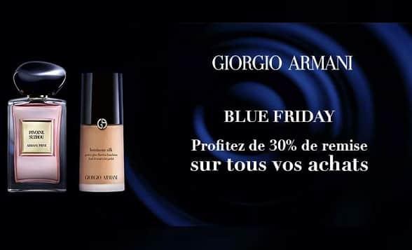 Pour Le Blue Friday De Armani Beauty Obtenez 30% De Remise Sur Tout Le Site