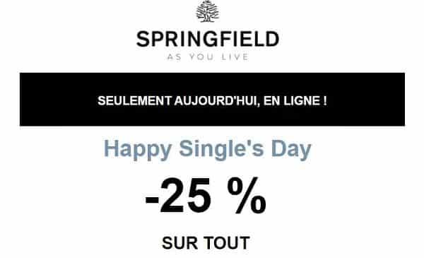 Single's Day Springfield