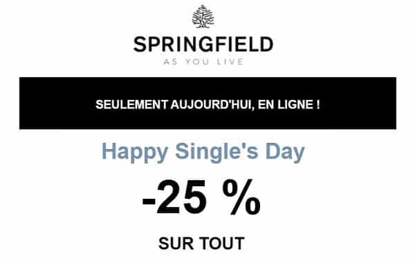 Single's Day Springfield