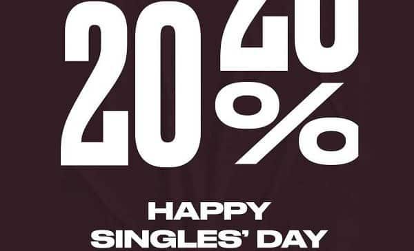 Single's Days De Converse 20% De Reduction En Plus