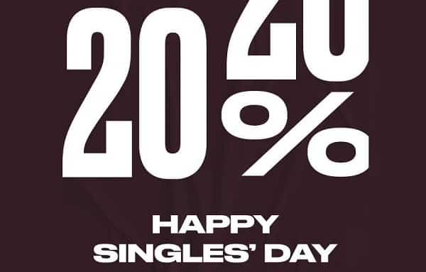 Single's Days De Converse 20% De Reduction En Plus