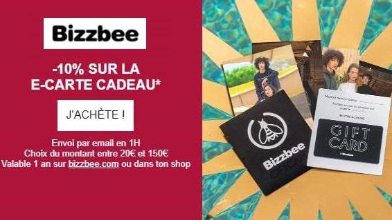 10% De Remise Sur Toutes Les E Cartes Cadeau Bizzbee