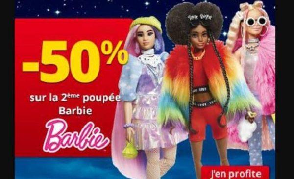 50% De Remise Sur La Seconde Poupée Barbie Sur Maxitoys