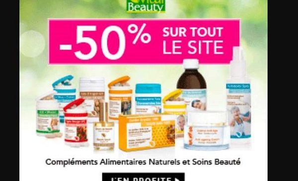 50% De Remise Sur Tous Les Articles De La Boutique Vital Beauty