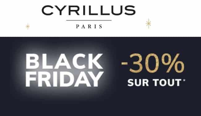 Black Friday Cyrillus