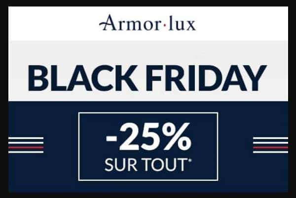 Le Black Friday Armor Lux