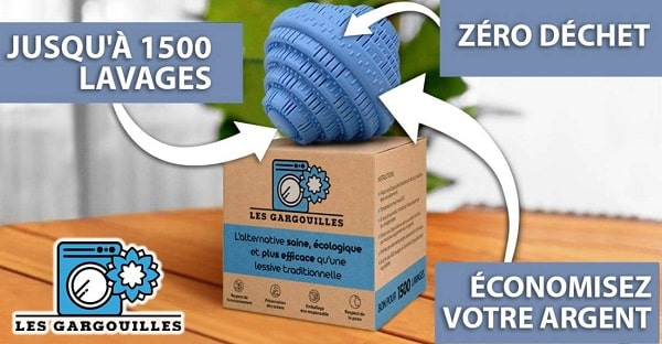 Les Gargouilles La Solution Qui Permet De Laver Votre Linge Sans Lessive