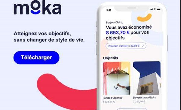 Moka Une Application Mobile Qui Vous Aide à Mettre De L'argent De Coté Grâce à L'arrondi Automatique