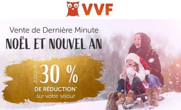 Offre De Dernière Minute Noël Et Nouvel An De Vvf Villages
