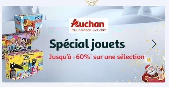 Offre Spéciale Jouets Pour Noel Jusqu'à 60% De Remise Sur Une Sélection (auchan)
