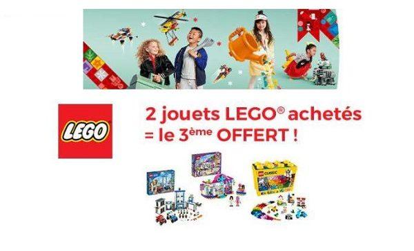 Opération Noël Lego Sur Cdiscount 2 Boites De Lego Achetées = La Troisième Offerte !