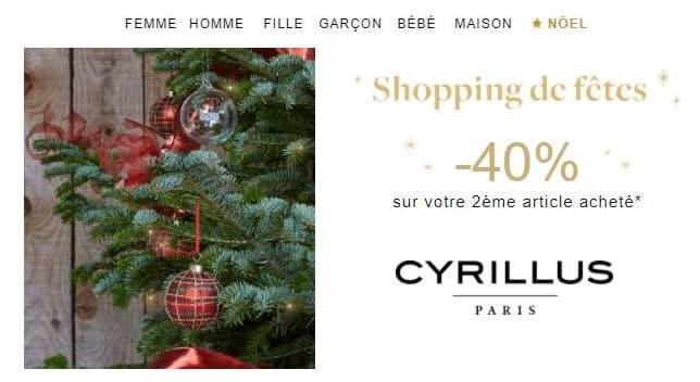 Shopping De Fêtes Cyrillus