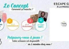 vente privée escape game à la maison happy kits moitié prix