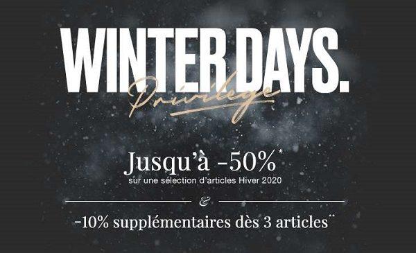 Winter Days Privilège La Vente De Pré Soldes Ikks