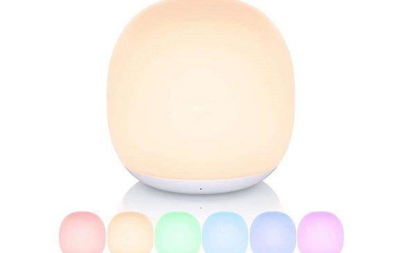 lampe veilleuse tactile sans fil rechargeable gladle gl lt010