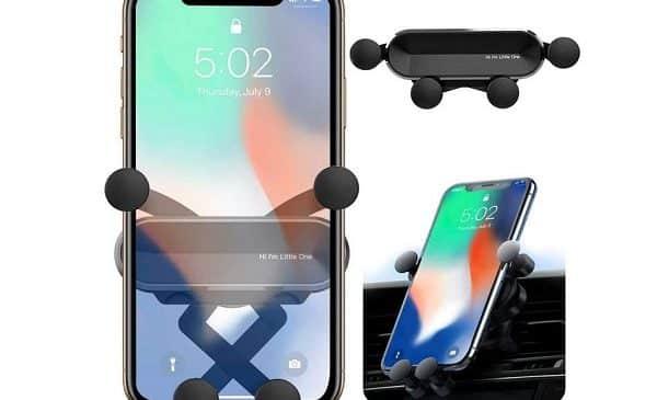 Support Smartphone Universel De Grille D'aération 360° Orycool