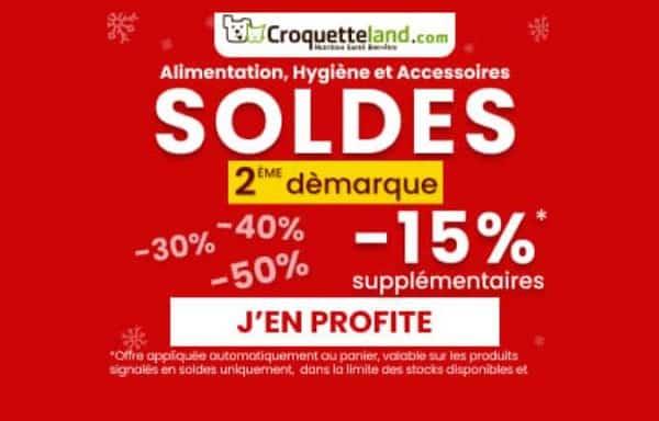 15% De Remise Sur Tout Le Site Croquetteland