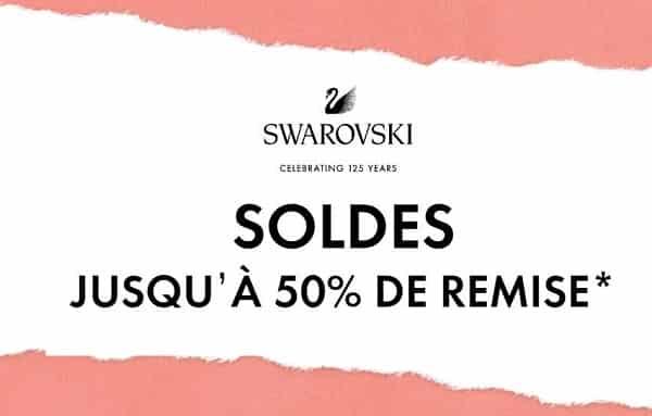 2 Articles Swarovski En Soldes 10% Supplémentaire